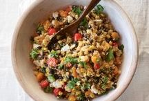 Eat Well / Delicious recipes that won't weigh you down with carbohydrates, fat, and calories.