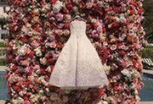 Wedding dress / Tantôt glamour sexy en robe moulante, tantôt bohême romantique en robe vaporeuse et légère....