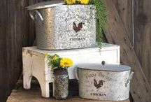Baskets and Containers / A variety of metal baskets for anywhere in the home.