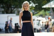 B E L L Y  B A R I N G / Cropped tops for Fall Winter 2013.  Layer with a warm coat!
