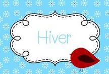 **Hiver/Winter** / Activités, bricolages, vidéo, idées, recettes à faire avec vos élèves pour célébrer cette magnifique saison!