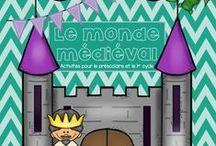 #Châteaux et chevaliers/Castle and Knight# / Activités, bricolages et idées pour le thème des châteaux, chevaliers, dragons et princesses!