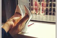 On high heels