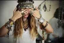 Hippie style / In general - lovely boho bohemian beauty flowery gipsy hippy hippie style including jewelry, jewellery accessories, outfit and lifestyle.