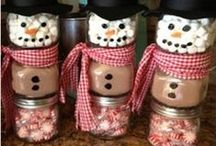 Gifts In A Jar / Gifts in a jar make great last minute gift ideas. Here are some of my favorites for inspiration.
