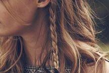 Boho Hair Ideas / The ideas for boho bohemian hippy hippie gypsy hair stylizations. Also tutorials, how-tos & some hairstyle accessories (flowers, headbands, bandanas, turbans)