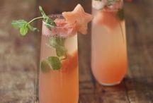 Breuvages / Dans ce tableau vous allez trouver des drinks, des très belle couleurs de drinks ou même leurs magnifique forme de verres.