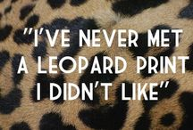 Leopard fashion / In love with the print leopard