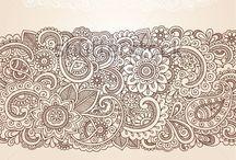 Tattoo: Paisley designe