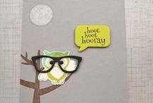 Hoo Loves You / Clearly Whimsy Stamps Collection