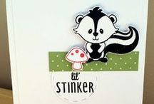 Lil' Stinker / Clearly Whimsy Stamps Collection