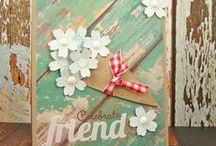 Retro Flowers / Clearly Whimsy Stamps Collection