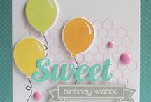 Distressed Backgrounds & Ink Splats / Clearly Whimsy Stamps Collection