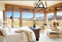Bedroom / A bedroom is a room of a house, mansion, hotel, dormitory, or apartment where people sleep.