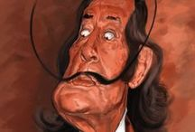 Salvador Dali / Salvador Domingo Felipe Jacinto Dalí i Domènech, Marquis of Dalí de Púbol (11 May 1904 – 23 January 1989), known professionally as Salvador Dalí was a prominent Spanish surrealist born in Figueres, Catalonia, Spain. Dalí was a skilled draftsman, best known for the striking and bizarre images in his surrealist work.