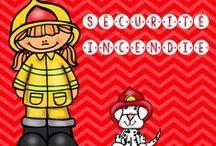 Pompiers / activités, sites web, bricolages pour le thème de la prévention des incendies