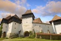 Transylvania / Transylvania is a region in central Romania. It's known for medieval towns, mountainous borders and castles like Bran Castle, a Gothic fortress associated with the legend of Dracula.