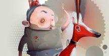 Philip Bosmans / Philip Bosmans is a Belgian pop surrealism artist, currently living in Hasselt (Limburg)