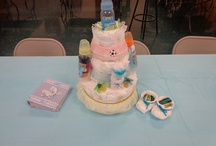 Shower gift / clever crafts with baby products / by Tisha Kunz