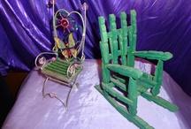 sticks & Clothespin craft  / by Tisha Kunz