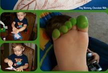 kids body art hands, feet, fingers. / by Tisha Kunz