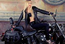 Motorcycle & chopper / Sexy& sophisticated men with bikes, Harley Davidson , Yamaha, Kawasaki,  / by Daisy Hsieh