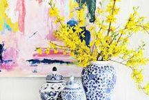 In casa, luci e colori / Luce, profumi, calore e colore mi fanno sentire a casa.