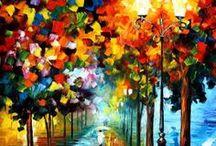 """L'arte di """"Leonid Afremov"""" / Tanto colore...mi piace"""
