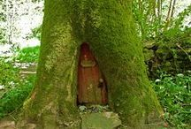 Fairy Houses & Gardens / Everything magical. Fairies, elves and gnomes - where they live and what they do.