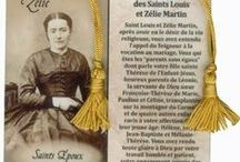 Sts Louis & Zelie Martin / St. Louis Martin (22 August 1823 - 29 July 1894) & (Marie-Azelie) St. Zelie Martin, born Guerin (23 December 1831 - 28 August 1877). Parents of St Therese of Lisieux