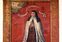 Vie et Oeuvres de Thérèse d'Avila / Teresa de Jesús (1515-1582) - Les parents de Thérèse furent Alphonse Sanchez de Cepeda -Alonso Sánchez de Cepeda (1480-1543) - et Béatrix/Beatriz de Ahumada (1495-1528), illustres tous les deux par la noblesse de leur origine, et plus encore par l'élévation de leurs sentiments chrétiens.