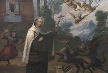 Jean de la Croix / Né en 1542, carme en 1563. Mort le 14 décembre 1591 à Úbeda (Espagne). Canonisé en 1726. Docteur de l'Église en 1927. Le 28 septembre 1591, le frère Jean de la Croix arriva au couvent d'Úbeda pour y « soigner quelques petites fièvres ». Il y resta jusqu'à sa mort dans une pauvre cellule du couvent. C'est à ce moment-là qu'il rencontra Dieu à minuit, entre le 13 et le 14 décembre, et il s'en alla « chanter l'Office au ciel ». /...museosanjuandelacruz.es