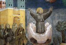 Saint François d'Assise / Saint François (1182-1226), l'ami de la nature et des animaux certes, mais peu de gens savent qu'il a été officiellement proclamé par Jean-Paul II, le 29 novembre 1979 « patron céleste des écologistes » … sainte-rita.net  /  St. Francis of Assisi, patron saint of animals and ecology...