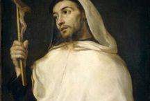 """Saint Albert de Trapani /de Sicile / Carmelite friar Albert degli Abati (d 1307?). One of the two most ancient saints in the Carmelite Order: for his sanctity and the exemplary quality of his life he was called, along with Saint Angelus, the """"Father of the Order"""", pater ordinis … carmelite.org"""
