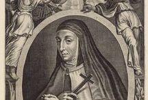 Anne de Jésus / Vénérable Anne de Jésus (1545-1621) Introductrice du Carmel Réformé (Carmes Déchaux) en France et en Belgique - Compagne et coadjutrice de sainte Thérèse de Jésus (d'Avila)
