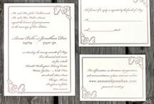 Wedding Invitations / Wedding invitations designed by Diana Heom.