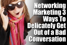 Networking Marketing / Whether you are doing in person or online networking, you need to know the ins and outs of making real connections as well as how grow big lists.