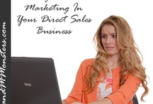 """Direct Sales Marketing / Are you in a direct sales or MLM (multi level marketing) company. While there is A LOT of noise out there targeted to """"help"""" very few actually do! Find out how to do EFFECTIVE direct sales marketing."""