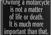 Motorcycles, bikers and ...