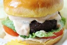 Hamburgers& sandwiches