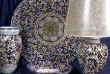 Deruta Pottery etc.