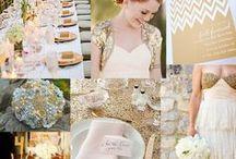 Wedding: gold