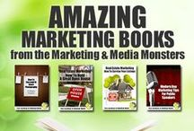 AMAZING Marketing Books! / SO proud to present information that you can use to grow your small business. Every week we launch a new book that we think will help you to market better, get more leads and make more money.  Some of the topics that we cover include small business marketing, time management, goal setting, real estate marketing…basically anything that tickles our fancy!