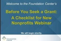 Brand-New Nonprofits / Are you creating a new nonprofit? Here is some information that may be  helpful to newer organizations. / by Regional Foundation Library