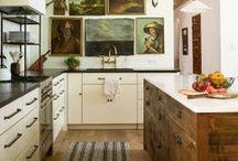 Living Spaces / Indoor, living-bed-study-bathroom-kitchen- room