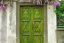 great doors ~ tolle türen