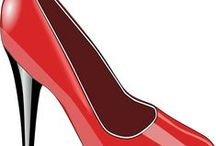 Shoes clipart / In search of the most beautiful illustrations that depict shoes