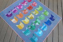 Elizabeth Hartman's Cat Blocks / Elizabeth Hartman's  25 Cat Quilt-Along Blocks