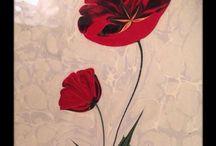 Ebru sanatı / Ebru örnekleri Marbling