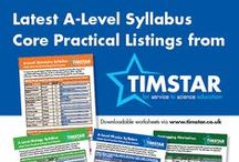 A-LEVEL PRACTICAL LISTINGS / To ensure we continue to support teachers and technicians we have compiled the latest core practical and product listings for the Physics, Chemistry and Biology syllabus based on A-Level Exam boards advice.